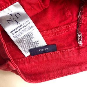 NYDJ Pants - NYDJ Red  lift tuck technology size 8 Ankle